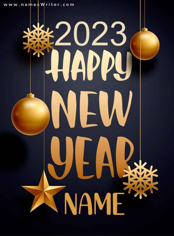happy new year NAME