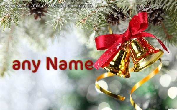 اكتب اسمك بخط عريض مع فيونكة