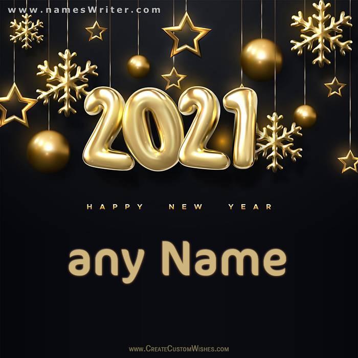 اكتب اسمك علي خلفية للسنة الميلادية الجديدة